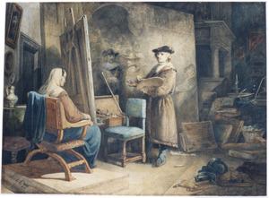 Rembrandt aan het werk