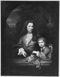 Dubbelportret Jan van de Poll (1666-1735) met zijn zoon Harmen Hendrick van de Poll (1697-1772)