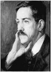 Portret van de kunstschilder A.W. Kort