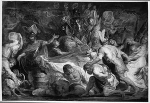 De begrafenisplechtigheden van Decius Mus  (Livius VIII, 6-9-10)