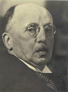 Portret van Wilhelm Martin (1876-1954)