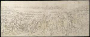 Lodewijk XIV trekt bij Lobith Nederland binnen, 12 Juni 1672