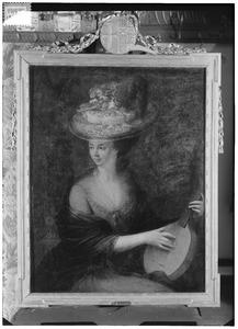 Portret van Frederika Johanna Yvoy (1747-1812)