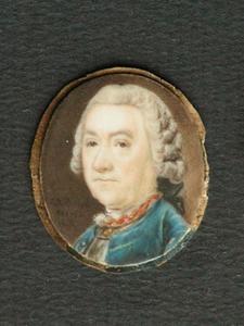 Portret van Johan François van Hogendorp (1700-1779),