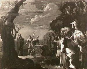 Het offer van Iphigeneia