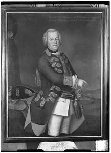 Portret van Johan Hendrik Frederik van Spaen (1705-1762)