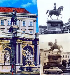 Ruiterstandbeeld van Aartshertog Albrecht