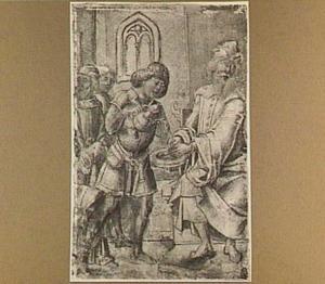 Pilatus wast zijn handen in onschuld (Mattheüs 27:24)