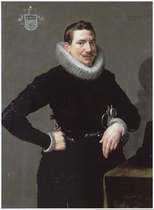 Portret van een man, mogelijk uit de familie Snouck