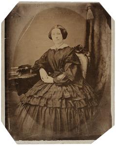 Portret van een vrouw, mogelijk uit familie Keuchenius, Davyt of Roskes