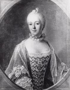 Portret van Isabella Agneta Elisabeth van Tuyll van Serooskerken (1740-1805), bekend als Belle van Zuylen