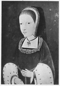 Portret van een jonge edelvrouw, waarschijnlijk een zuster van Karel  V