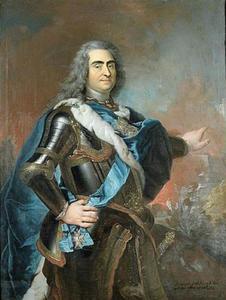 Portret van August II (1670-1733), koning van Polen