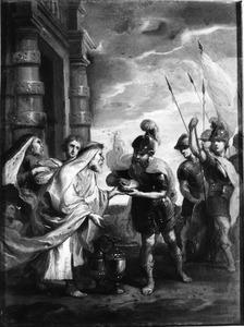 Abraham en Melchisedek