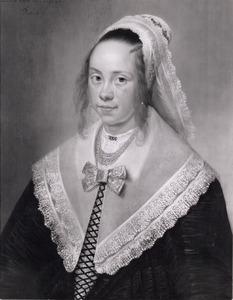 Portret van Elisabeth Wijbo ( 1629-1649)