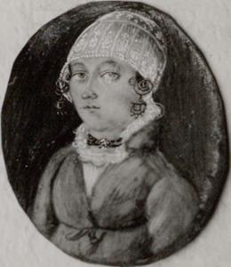 Portret van Maatje Zaaijer (1802-1890)