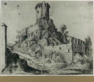 Rome, de tombe van Scipio aan de Via Appia