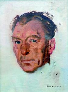 Portret van Germ de Jong (1886-1967)