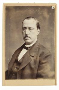 Portret van Harmen Hendrik van de Poll (1829-1880)