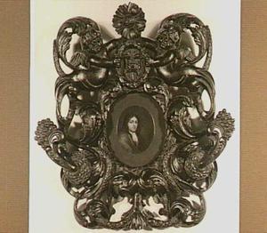 Portretminiatuur van een man, mogelijk Johannes Becius Aegsz.