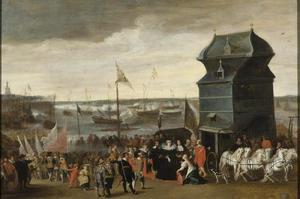 Aankomst van Koningin Maria de Medici in Antwerpen