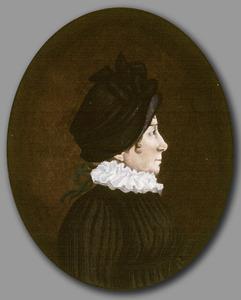 Portret van Johanna Maria Parve ( 1785-1861)