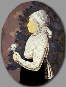 Portret van een vrouw, mogelijk Dorothea Gasse (1776-1849)