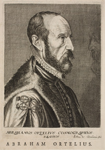 Portret van Abraham Ortelius (1527-1598)