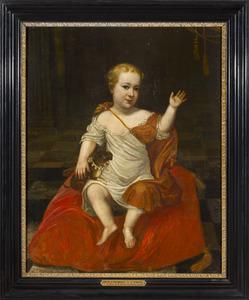 Portret van Anton II graaf von Aldenburg (1681-1738)