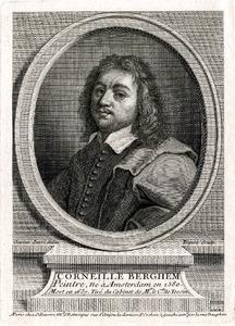 Portret van een man, genaamd Nicolaes Pietersz. Berchem (1621/22.-1683)