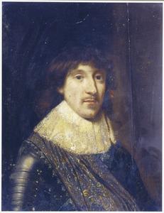 Portret van een man, genaamd Christiaan van Brunswijk-Wolfenbuttel (1599-1626)