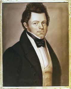 Portret van Christiaan Was (1799-1875)