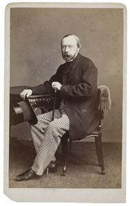 Portret van Gerrit Willink (1814-1876)