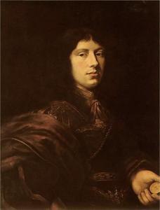 Portret van een jonge man met medaille