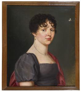 Portret van Maria Anna Luise Friederike Johanna Sybille des H.R.Rijksgravin van Hoensbroeck (1774-1846)
