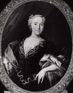Portret van Theodora Cornelia Elisabeth Schade van Westrum (1710-1782)