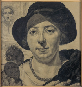 Portret van Nelly Johanna Schilt (1898-1994)