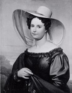 Portret van Margaretha Maria Crommelin (1805-1842)