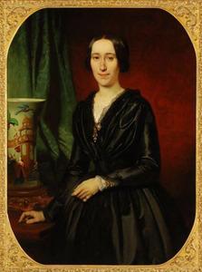 Portret van Elisabeth van Hoboken (1819-1888)