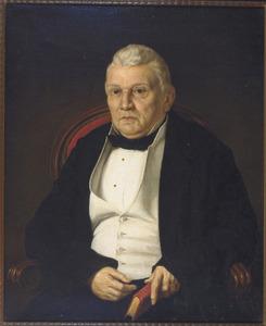 Portret van Hendrik de Bruyn (1815-1885), echtgenoot van H.A. Hamar de la Bretonnière