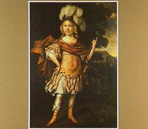 Portret van een jongen als veldheer