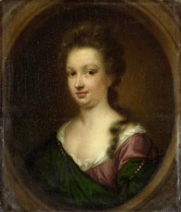 Portret van Emerentia van Citters (1666-1694)