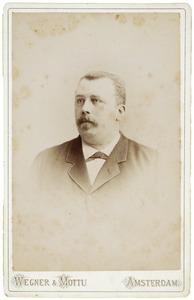 Portret van Izaak Siepman van den Berg