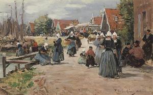 Marktdag in Volendam
