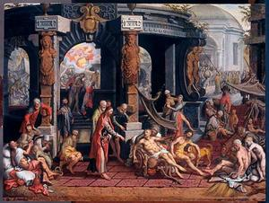 Christus geneest een lamme in Betesda (Johannes 5:1-15)