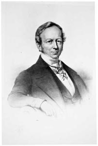 Portret van Hendrik Ludolf Wichers (1800-1853)