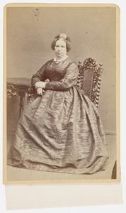 Portret van Johanna Petronella Francina Wijs (1818-1882)