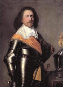 Portret van een man, waarschijnlijk George Frederik van Nassau-Siegen (1606-1674)