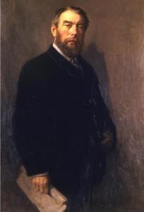 Portret van de verzamelaar John Forbes White