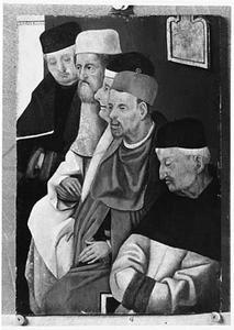 Schriftgeleerden (fragment van 'Christus als twaalfjarige in de tempel' )
